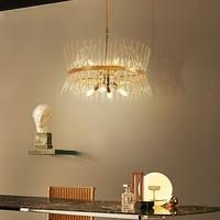 Luxury K9 Crystal Pendant Lights Living Room Restaurant Chandelier Ceiling Fixture Bedroom Study Hanging Lamp Designer Lighting