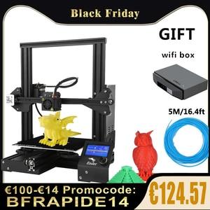 Ender 3 /Ender 3 Pro/Ender 3 V2 3D Printer DIY Kit 3D printer Large Size mini Resume Power Failure Printer ender 3 impresora 3D