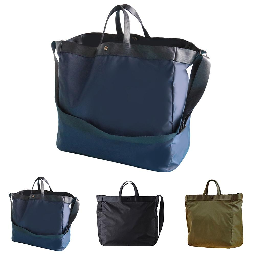 Unisex Solid Color Portable Waterproof Nylon Travel Handbag High Quality Duffel Shoulder Bag Trolley спортивная сумка мужская