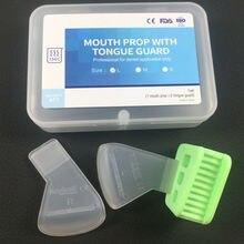 Large Green Dental Mouth Prop Tongue Guard Right Left 134℃ Bite Block Adult Green Super Good