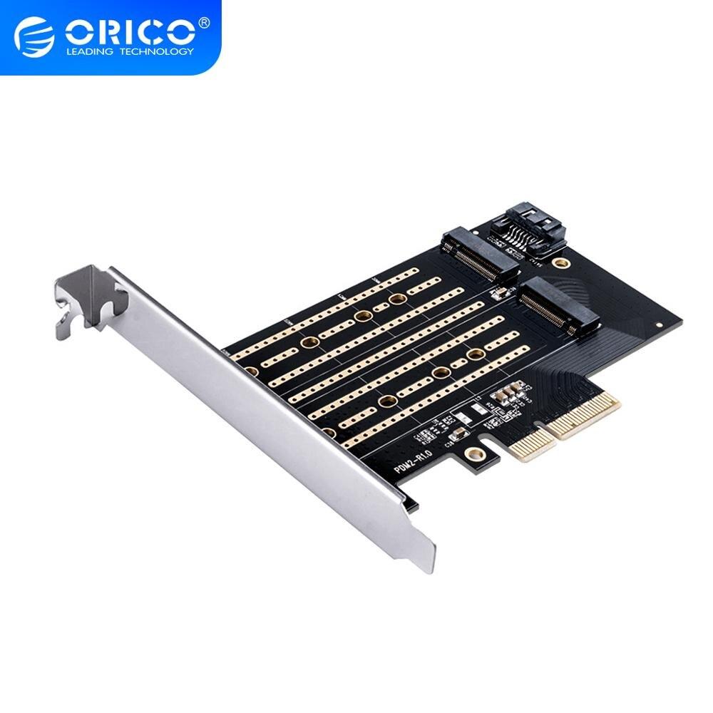 ORICO PCI-E Express M.2 M B chiave Interfaccia SSD M.2 NVME per PCI-E 3.0 X4 Gen3 Convertire Carta di Sostegno 2230-2280 Size Super Velocità