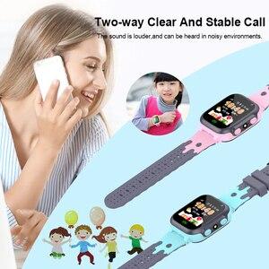 Image 5 - ساعة ذكية للأطفال مكالمة فيديو أندرويد 4.0 مقاوم للماء ساعة ساعة ذكية es متصلة ساعة ذكية للأطفال ساعة ذكية المعصم شاشة تعمل باللمس