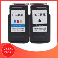745XL 746XL PG745 CL746 for canon ink cartridge PG 745 CL 746 XL for Pixma MG2470 MG2570 MG2970 IP2870 IP2872 Printer