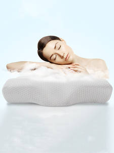 Memory-Foam-Pillow Spine Rebound Relax-The-Cervical Butterfly-Shaped YR Adult for Slow