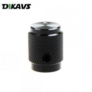 Image 2 - 10 adet katı alüminyum ses anahtar düğmesi 12.5X16mm potansiyometre topuzu döner kodlayıcı kolları