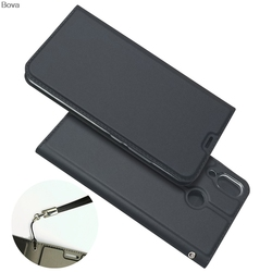 Wallet Case for Asus Zenfone 5 ZE620KL / Zenfone 5Z ZS620KL Drop-proof Phone Case Magnetic attraction Ultra-thin Matte Touch