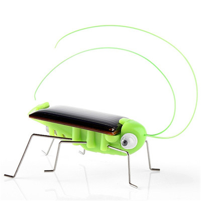 Solar Toys For Kids 1 Set Mini Powered Toy DIY Solar Powered Toy DIY grasshopper Kit Children Educational Gadget Hobby Funny 3