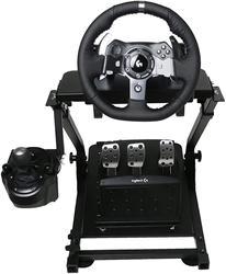 VEVOR Self-Career Race Steering Wheel Support for Logitech G25 G27 G29 and G920 Folding Steering Wheel Stand