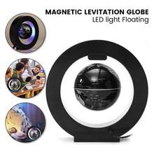 2021 Floating Magnetic Levitation Globe Light World Map Ball Lamp Lighting Office Home Decoration Terrestrial Globe novelty lamp