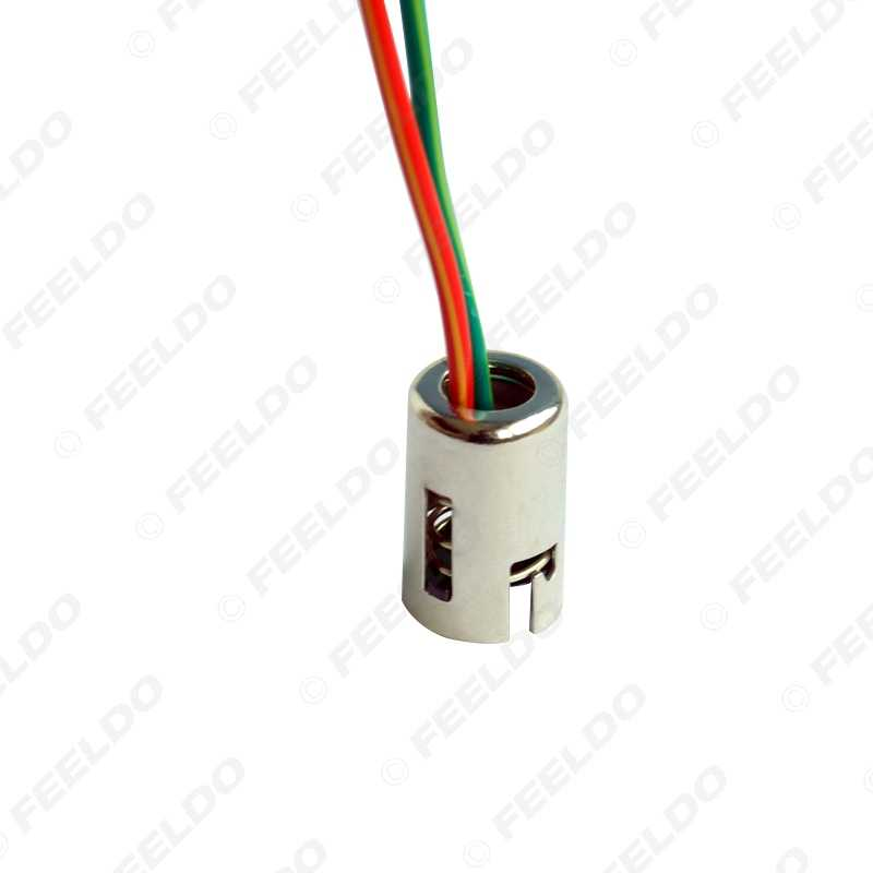 FEELDO 1Pc רכב P21W 1157 BAY15D LED שקע הארכת החלפת מחזיק חוט רתם