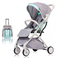 Multifunctional Strollers Mini Lightweight Folding Baby Stroller Foldable Pushchair(Tax Free)(Shipping from EU or CN)