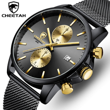 2020 CHEETAH Military Army Men Watch Business Steel Men's Watches Waterproof Quartz Sport Men Wrist Man Clock Relogio Masculino steel master quartz white black vogue business military man men s watches 3atm waterproof dropshipping