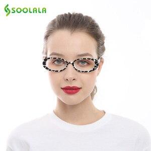 Image 5 - SOOLALA 5 Pairs śliczne owalne mała ramka do czytania okulary kobiety oprawki do okularów okulary korekcyjne 0.5 0.75 1.0 1.25 do 4.0