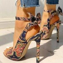 Summer Fashion Woman Shoes Sandals High Heels Thin Heel Ankle Peep Toe Wedding Pumps Zapatos De Mujer Sandalias  LP649 2020 summer fashion woman shoes sandals high heels thin heels peep toe party wedding pumps zapatos de mujer sandalias lp640