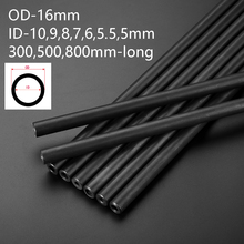 16mm OD Round Steel Pipe Seamless Hydraulic Alloy Precision Tubes  Explosion-proof Print Black