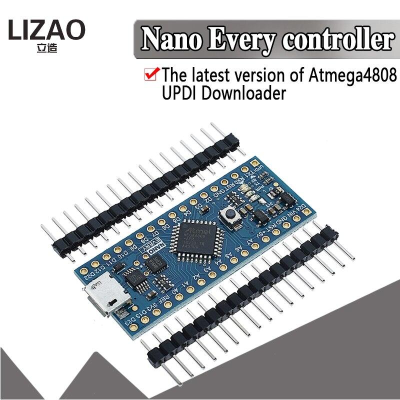Новое поступление, контроллер Nano совместимый с Arduino Nano each Atmega4808, Модернизированный Atmega328 CH340 UPDI загрузчик для arduino