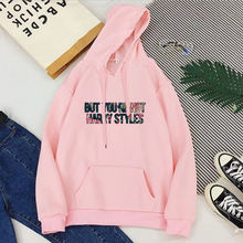 But you're not harry styles hoodies plus size women top