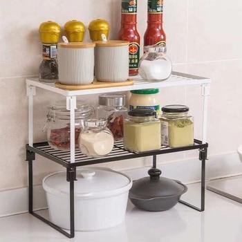 Home Closet Organizer Storage Shelf for Kitchen Rack Wardrobe Decorative Shelves Cabinet Holders