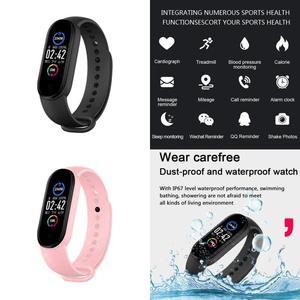 M5 Wristbands Smart Bracelet Health Tracker Smart Watch Band 5 Bluetooth Blood Pressure Waterproof Watch Wristband For Adult Kid