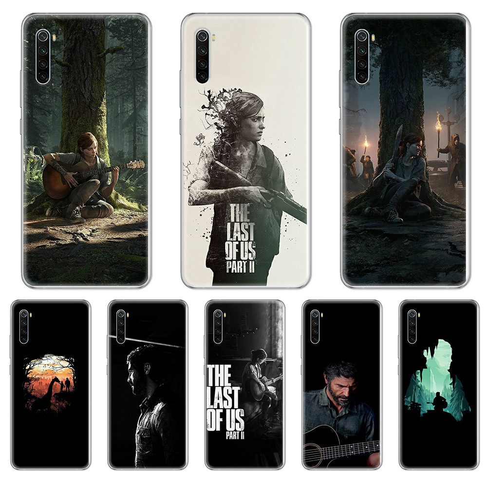 The Last Of Us 2 Joel Fashion Prime Transparent Phone Case Cover For Xiaomi Redmi 3S 4A 5A 6A 5 Plus 4X 7 8 8A CC9 K20 Pro K30