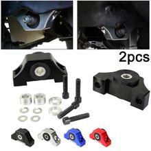 цена на Car Accessories Engine Motor Torque Mount Kit Billet Aluminum For Honda Civic D-series/B-series