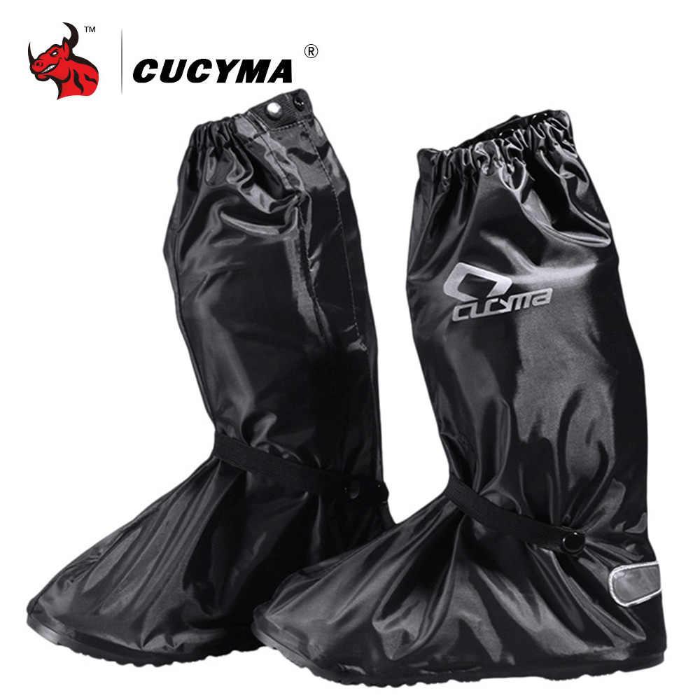 CUCYMA Motorcycle Waterproof Rain Shoes