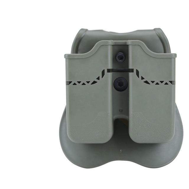 Фото тактический пистолет двойной мешочек для glock 17 19 colt 1911