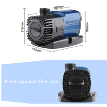 Water pump pumping submersible pump frequency conversion mute small circulation filter energy saving aquarium pump 220-240V 25w submersible aquarium water pump ac 220 240v