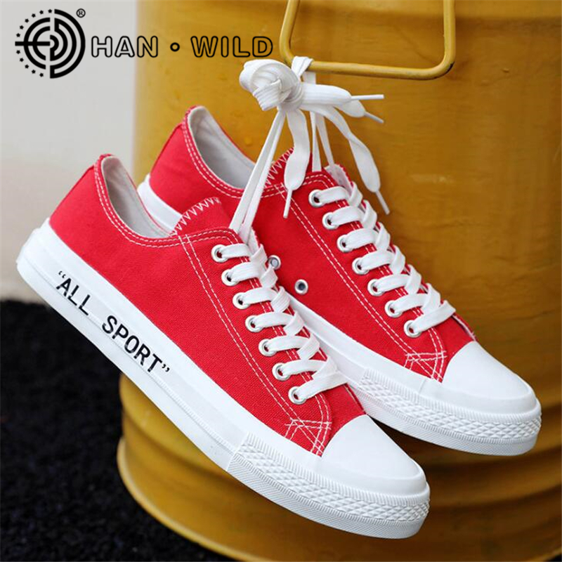 Men's Shoes Sneakers Flats Low-Top Canvas Autumn Casual Fashion Spring Breathable Women