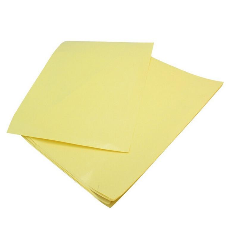 10 Pcs/lot PCB A4 Thermal Transfer Paper/Board Making Inkjet Transfer Paper Heat Papel Transfer Circuit Board