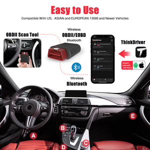 Image 2 - THINKCAR Thinkdriver Obd2 Scanner Bluetooth Professional All System 15 Reset Service Obd2 Automotive Scanner Car Diagnostic Tool