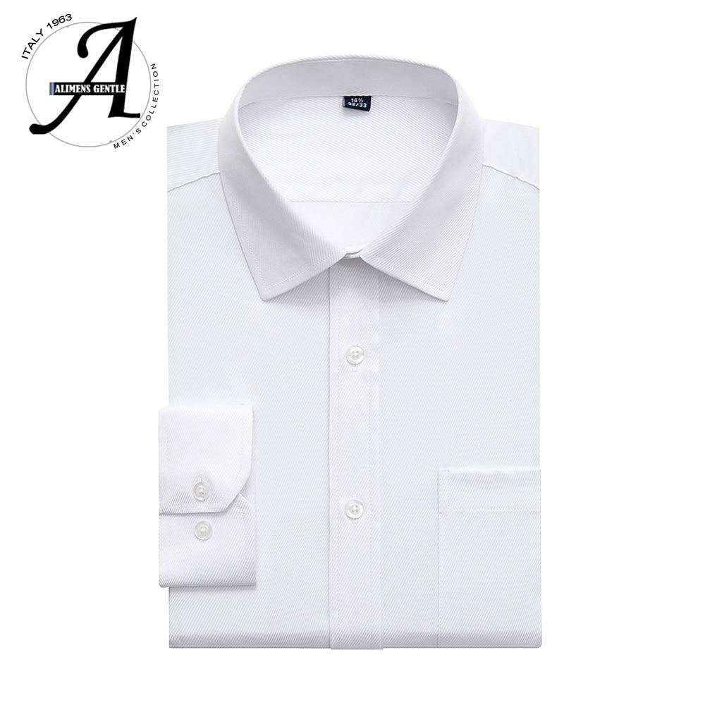 9XL Regular Fit White Shirt Long Sleeve Casual Shirts For Men 2019 Brand New Casual Men Shirts 6XL Camisas Manga Larga Masculina