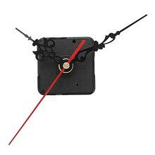 20 мм вал DIY белые стрелки кварцевый механизм бесшумный механизм настенные часы запасные части