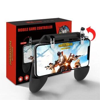 3 en 1 L1R1 juego Shooter para PUBG Mobile Gamepad Control Trigger teléfono celular juego Pad controlador para iPhone Android Joystick R15