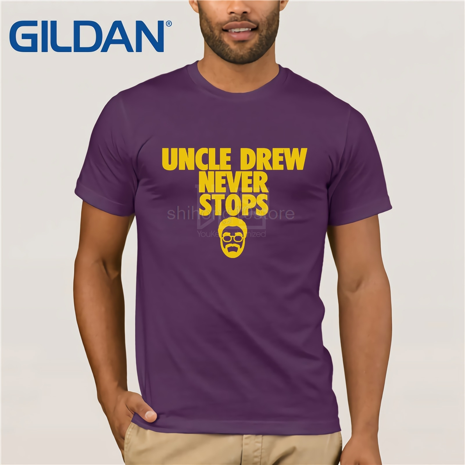 the latest 05861 ae5ed All kinds of cheap motor uncle drew shirt in All B