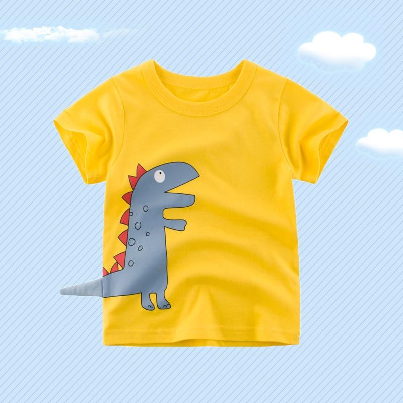 Childrenswear 2019 Summer New Style T-shirt Children Short-sleeved Top Baby T-shirts Children Of Clothes