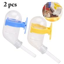 Hamster Drinker Cage Pet-Feeder-Supplies Pet-Water-Dispenser Hanging Plastic for 2PCS