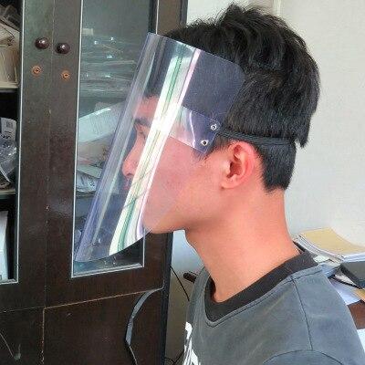 5pcs Transparent Face Mouth Guard Spittle Prevention Masks Anti splash Protective Mask Cooking Face Covers|Masks| |  - title=