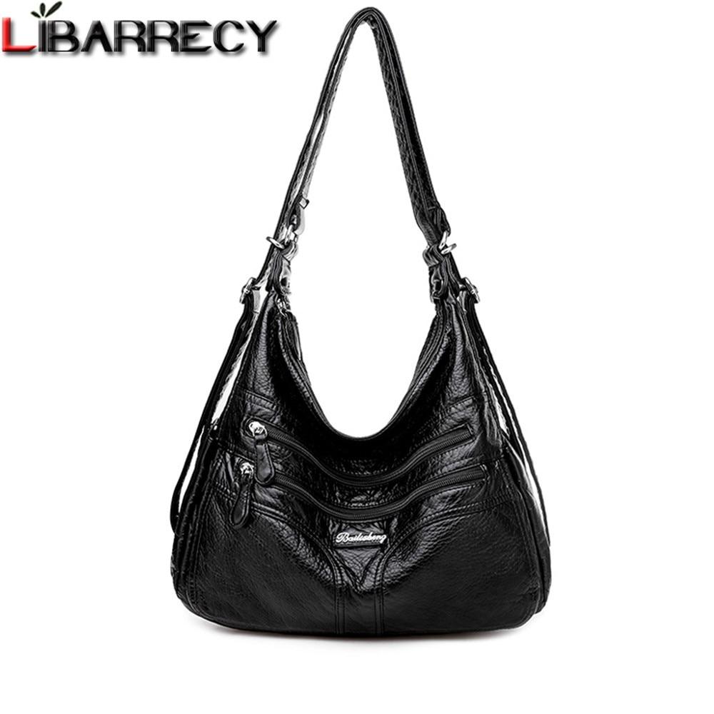 New Large-capacity Women's Shoulder Bag Luxury Design Multifunctional Ladies Messenger Bag Genuine Leather Woman Bags Sac A Main