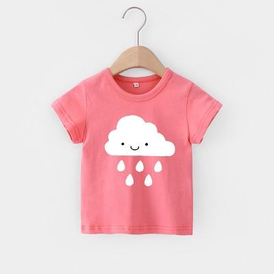 H15696c0a42be446d9bb9180be9602f2fv VIDMID Baby girls t-shirt Summer Clothes Casual Cartoon cotton s tees kids Girls Clothing Short Sleeve t-shirt 4018 06