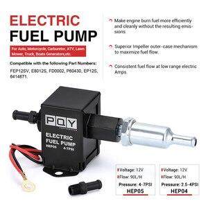 Image 2 - Universal 12v eletrônico bomba de combustível em linha 4 7psi alta pressão 90lph gasolina gás diesel compatível 40104 40106 40107 p502