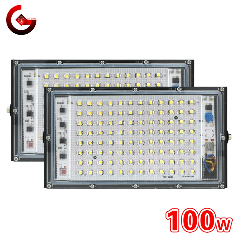 Led Flood Light 100W 220V Outdoor Floodlight IP65 Waterproof LED Street Lamp Landscape Lighting Spotlight Wall Washer
