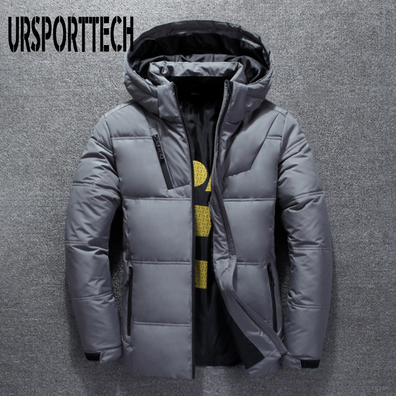 Image 4 - 2019 New High Quality White Duck Thick Down Jacket Men Coat Snow Parkas Male Warm Brand Clothing Winter Down Jacket Outerwear-in Down Jackets from Men's Clothing