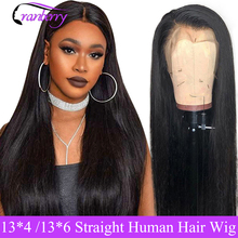 Cranberry Straight Lace Front Human Hair Wigs Pre Plucked Hairline 13X4 Or 13×6 Lace Front Wig Brazilian Wig Remy Hair Wigs