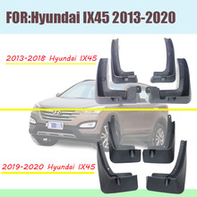 For Hyundai Santa Fe IX45 mud guards hyundai fenders santa fe  flaps splash car accessories auto styling 2013-2020