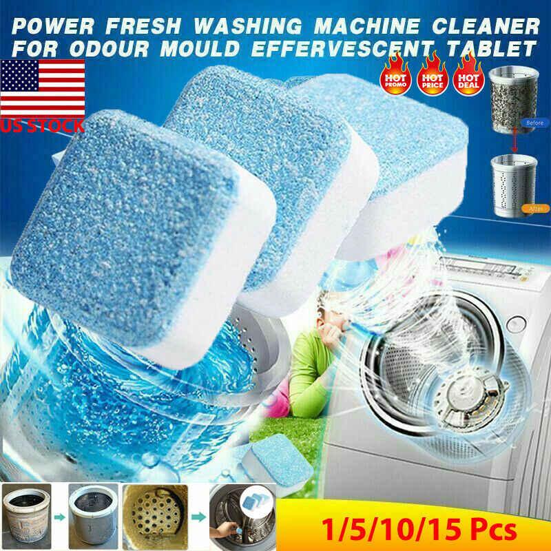 10 Pcs Washing Machine Cleaner Washer Cleaning Laundry Soap