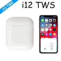 2019 i12 i 12 TWS Mini Bluetooth sans fil Sport écouteurs contrôle tactile écouteurs avec boîte de charge Sport casques pas i10 i30 i60