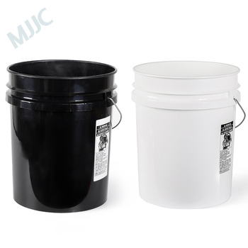 MJJC Brand with High Quality Dual Bucket two bucket washing Kit each bucket 5 gallon(20L) one black and one white фото