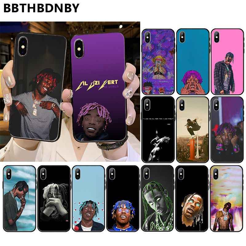 Untuk 11 Pro Max Capa untuk Lil Uzi Vert Indah Ponsel Case Bumper untuk iPhone 11 Pro XS MAX 8 7 6 6S Plus X 5 5S SE XR Case