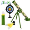 Arma de bala macia morteiros jedi das crianças modelo pode lançar foguetes tiro simulação militar brinquedos ao ar livre